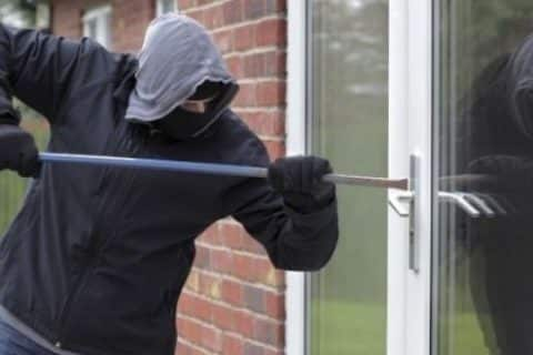 What are the secret codes that burglars use to mark houses